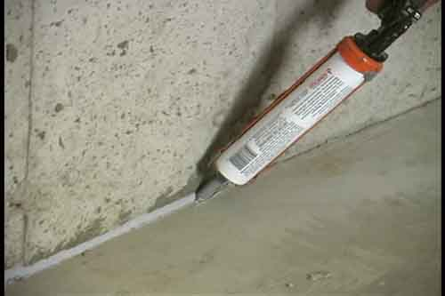 Sealing Cracks Vsi Radon Reduction Corp